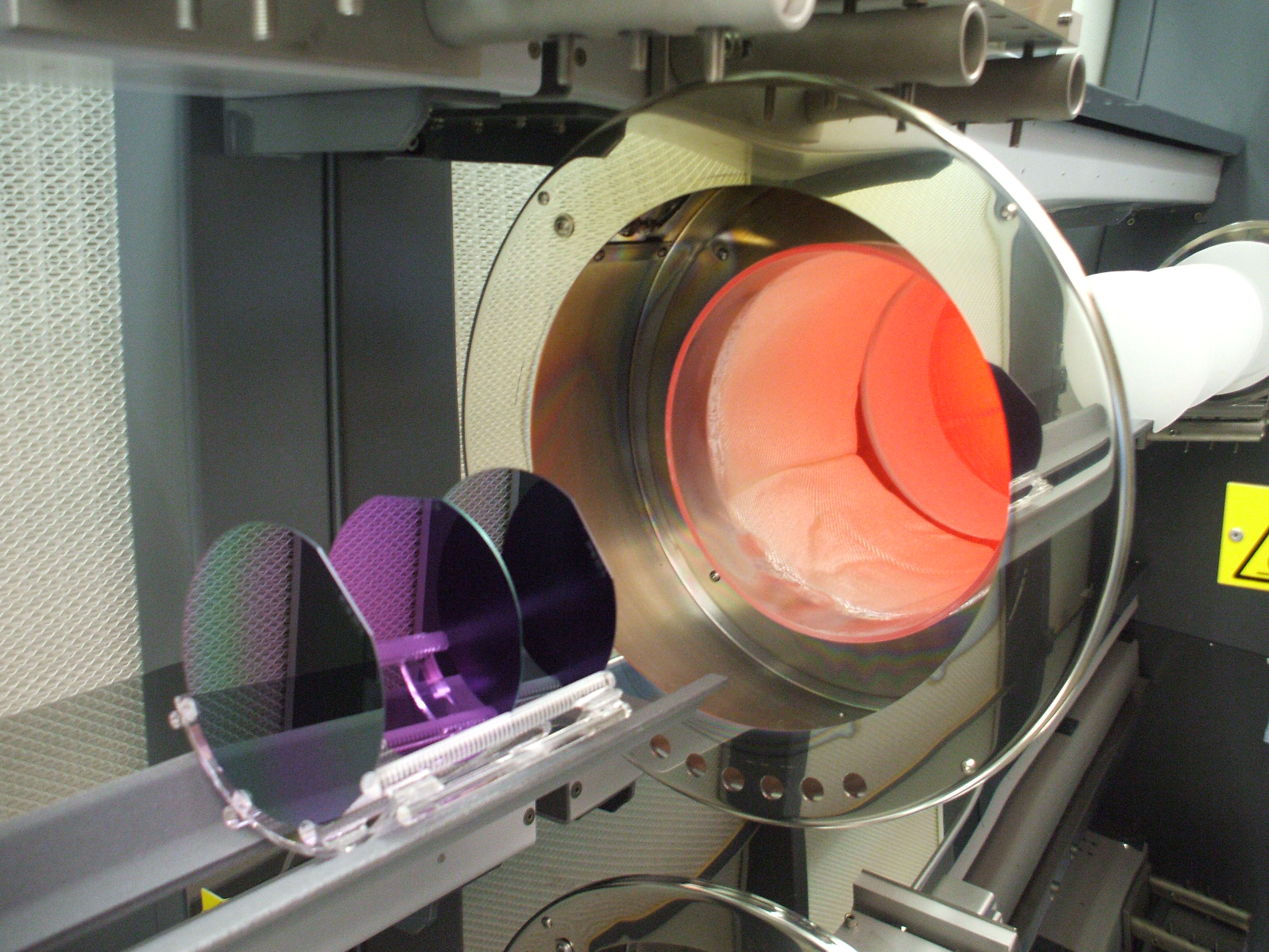 Deposition And Metallization On Silicon Wafers Sil Tronix St